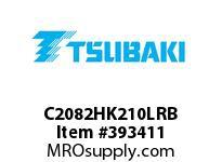 US Tsubaki C2082HK210LRB C2082H RIV 10L/K-2