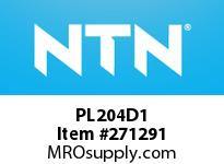 NTN PL204D1 CAST HOUSINGS