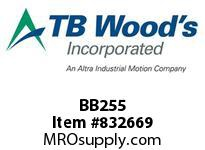TBWOODS BB255 BB255 HEX V-BELT