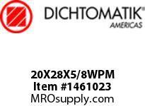 Dichtomatik 20X28X5/8WPM WIPER