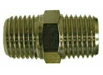 MRO 28827 1/2 X 1/4 M BSPT N-PLTD HEX NIPP