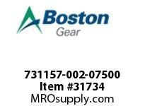 "BOSTON 78745 731157-002-07500 ROTOR 1604-2 0.7500"""