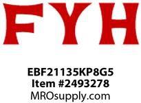 FYH EBF21135KP8G5 2 3/16 ND SS 4B (NARROW-WITH) RE-LUBE