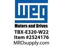 WEG TBX-E320-W22 Terminal Box for 320 Frame W22 Motores