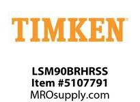 TIMKEN LSM90BRHRSS Split CRB Housed Unit Assembly