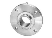 IPTCI SUCSFCX07-23 All Stainless 4-Bolt Piloted Flange Set Screw Lock Medium Duty Bore Dia. 1 7/16^^ Wide Inner Race