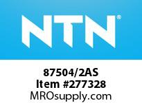 NTN 87504/2AS SMALL SIZE BALL BRG(STANDARD)