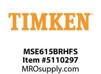 TIMKEN MSE615BRHFS Split CRB Housed Unit Assembly