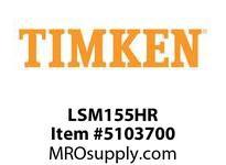 TIMKEN LSM155HR Split CRB Housed Unit Component
