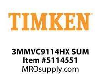 TIMKEN 3MMVC9114HX SUM Ball High Speed Super Precision