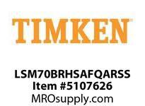 TIMKEN LSM70BRHSAFQARSS Split CRB Housed Unit Assembly
