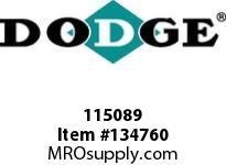 DODGE 115089 8C20.0-4040