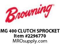 Morse 146355 MG 400 CLUTCH SPROCKET