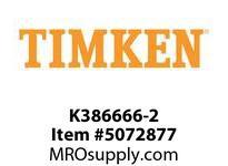 TIMKEN K386666-2 Seal Wear, Backing Ring, or Adaptor