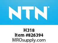 NTN H318 Adapter sleeve