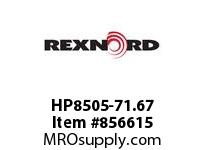 REXNORD HP8505-71.67 HP8505-71.66 HP8505 71.67 INCH WIDE MATTOP CHAIN