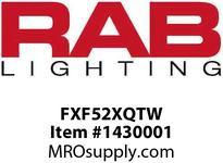 RAB FXF52XQTW FX WALL 52W CFL QT HPF LAMP WHITE