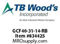 TBWOODS GCF40-31-14-RB CPLG GCF40-31-14-RB SAE
