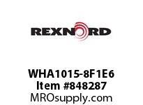 REXNORD WHA1015-8F1E6 WHA1015-8 F1 T6P WHA1015 8 INCH WIDE MATTOP CHAIN WI