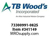 TBWOODS 73300991-0825 73300991-0825 11S T-SF CPLG