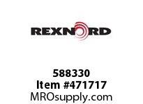 REXNORD 172395 588330 550.S71-8.HUB LG RB