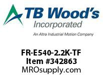 TBWOODS FR-E540-2.2K-TF INVERTER 400V 3HP TF MICRO