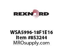 REXNORD WSA5996-18F1E16 WSA5996-18 F1 T16P N6 WSA5996 18 INCH WIDE MATTOP CHAIN W