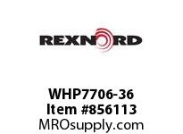 REXNORD WHP7706-36 WHP7706-36 WHP7706 36 INCH WIDE MATTOP CHAIN W