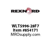REXNORD WLT5996-28F7 WLT5996-28 F4 T7P WLT5996 28 INCH WIDE MATTOP CHAIN W