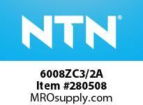 NTN 6008ZC3/2A SMALL SIZE BALL BRG(STANDARD)
