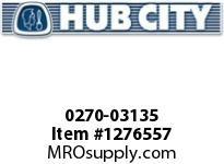 HubCity 0270-03135 RM3S-7.538---250TC