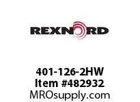 REXNORD 6113600 401-126-2HW 856-30 SEG TRAC WHL W/HW