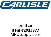 Carlisle 200J40 J Bulk Sleeves