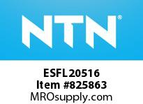 NTN ESFL20516 Bearing Units - Cast Iron