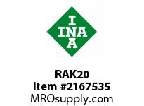 INA RAK20 Pillow block unit