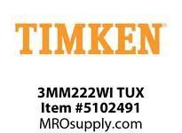 TIMKEN 3MM222WI TUX Ball P4S Super Precision