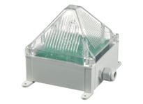 Pfannenberg 21042105000 Quadro S 230V AC RD Synchronized Flashing Xenon Strobe Beacon 13 Joules 230 VAC Flashing light