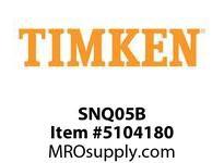 TIMKEN SNQ05B Split CRB Housed Unit Component