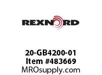REXNORD 20-GB4200-01 OBSOLETE REPLACED BY -20 6468560