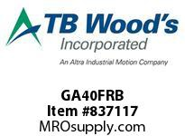 TBWOODS GA40FRB HUB GA4 ROUGH BORE FLEX
