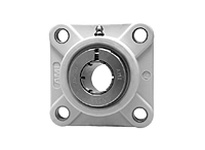 AMI UEFPL206-20MZ20W 1-1/4 KANIGEN ACCU-LOC WHITE 4-BOLT ROW BALL BEARING