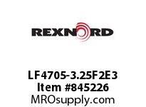 REXNORD LF4705-3.25F2E3 LF4705-3.25 F2 T3P
