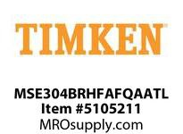 TIMKEN MSE304BRHFAFQAATL Split CRB Housed Unit Assembly