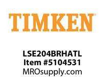 TIMKEN LSE204BRHATL Split CRB Housed Unit Assembly