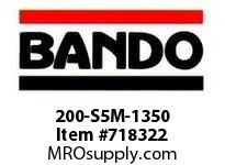 Bando 200-S5M-1350 SYNCHRO-LINK STS TIMING BELT NUMBER OF TEETH: 270 WIDTH: 20 MILLIMETER