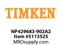 TIMKEN NP429683-902A2 TRB Two Single Row Assembly 8-12OD