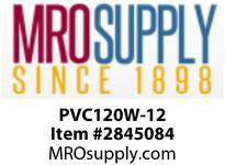 """MRO OPEN ENDS BY WIDTH MATERIAL:PVC120 WHITE C x FS WIDTH: 12"""""""