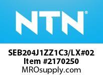 NTN SEB204J1ZZ1C3/LX#02 SMALL SIZE BALL BRG(STANDARD)