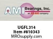 AMI UGFL314 70MM HEAVY ECCENTRIC COLL 2-BOLT FL BEARING