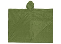 MCR O48 Schooner .10mm PVC Disposable Poncho Single Ply OD Green